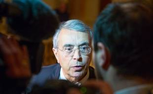 Le candidat de la gauche et président sortant de Rhône-Alpes Jean-Jack Queyranne. KONRAD K./SIPA