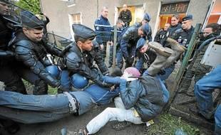 Plus de 500 gendarmes ont été mobilisés pour expulser les «squatteurs».