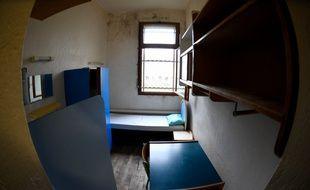Une cellule de la prison des femmes de Rennes.