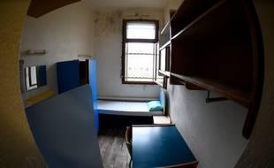 Une cellule de prison. Illustration.