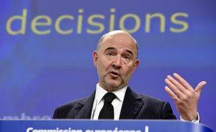 Le commissaire européen aux affaires économiques, Pierre Moscovici, le 25 février 2015 à Bruxelles