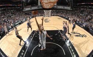 Le meneur de jeu des San Antonio Spurs Tony Parker, le 8 mars 2014 contre Orlando.