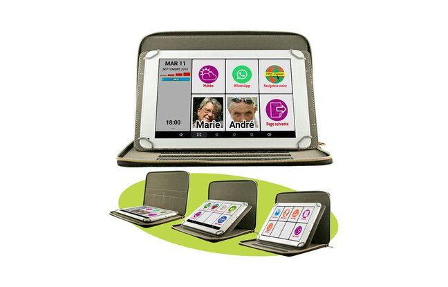 Tablette tactile pour senior MOBIHO-ESSENTIEL