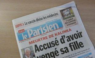 Journal Le Parisien, édition du mercredi 21 octobre 2009