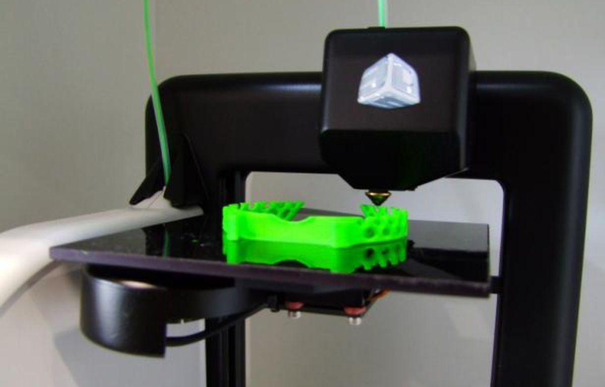 Cubify, une imprimante 3D grand-public de 3D Systems. – P.BERRY/20MINUTES