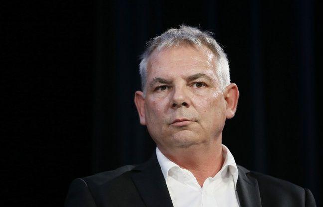Le secrétaire général de la CGT Thierry Lepaon à Paris, le 7 avril 2014.
