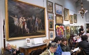 La toile de Charles Meynier a été adjugée 2,2 millions d'euros.