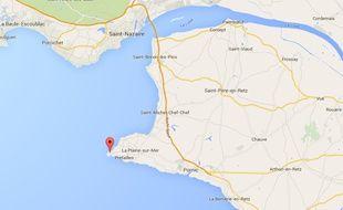 La neutralisation de la bombe est prévue au large de l'estuaire et de la pointe Saint-Gildas.