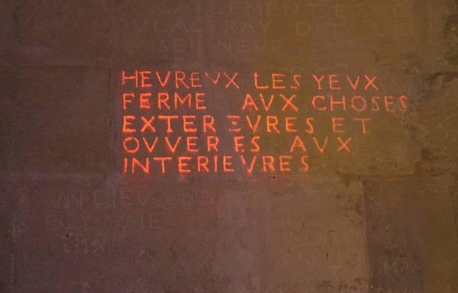 Le graffiti invisible de Zevs.