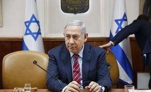 Le Premier ministre israélien Benjamin Netanyahou, le 25 mars 2018 à Jerusalem.