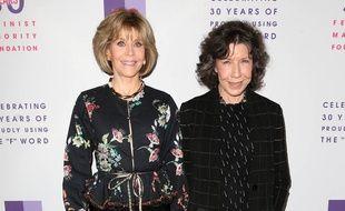 Les actrices Jane Fonda et Lily Tomlin