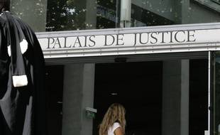 L'entrée du Palais de justice de Toulouse