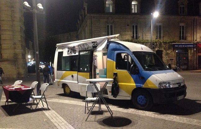 Bordeaux: Le bus Hangover café va à la rencontre des fêtards trop alcoolisés