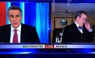 La bourde d'un journaliste de Sky News en direct