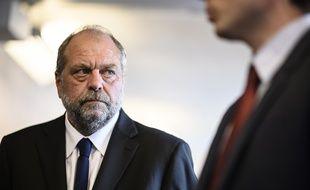 Eric Dupond-Moretti au tribunal de Bobigny, le 8 juillet 2020.