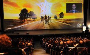 La présentation du Tour de France 2011, le 18 octobre 2011 à Paris.