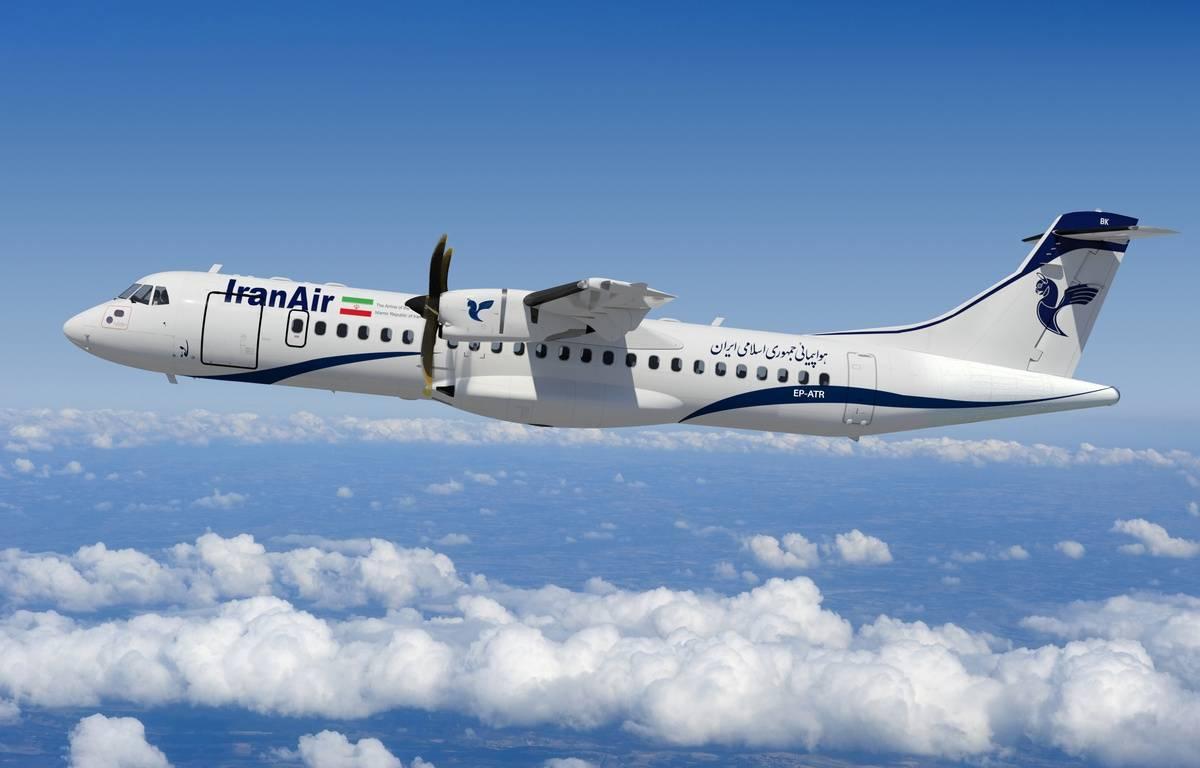 Un des futurs ATR 72-600 d'Iran Air. – ATR