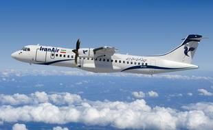 Un des futurs ATR 72-600 d'Iran Air.