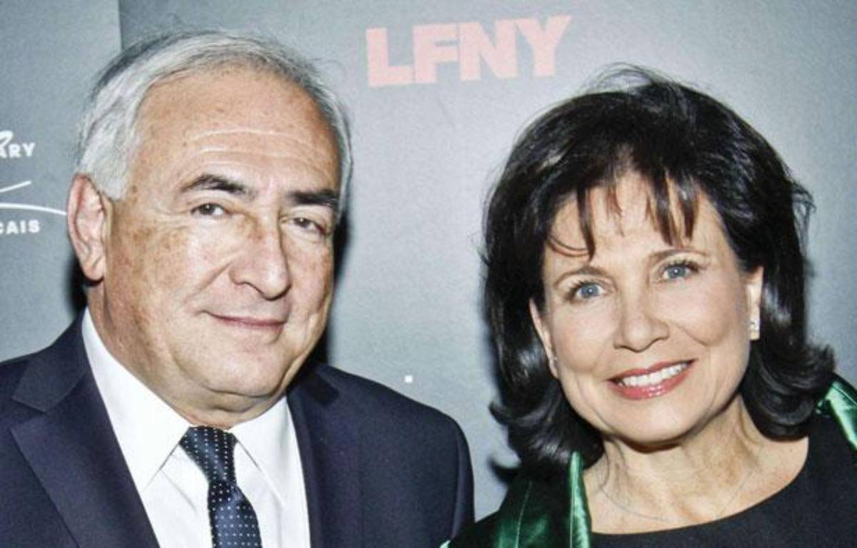 Dominique  Strauss-Kahn et Anne Sinclair, le 5 février 2011 à New York. – MCMULLAN CO/SIPA