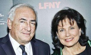 Dominique  Strauss-Kahn et Anne Sinclair, le 5 février 2011 à New York.