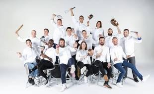 Les 15 candidats de la saison 11 de « Top Chef ».