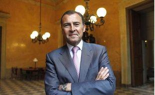 Le député UMP des Alpes-Maritimes Lionnel Luca, le 11 mai 2010 à l'Assemblée nationale.