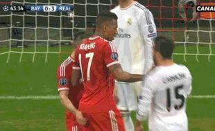 Capture d'écran de la claque de Franck Ribéry