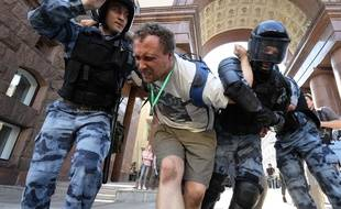 1.600 manifestants ont été arrêtés ce week-end à Moscou.