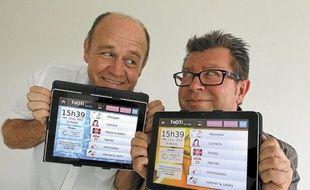 Thierry Corbillé et Christophe Boscher sont les co-fondateurs de Tikeasy.