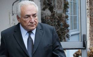 Dominique Strauss-Kahn le 11 février 2015 à Lille