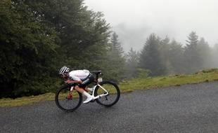 Marc Hirschi lors de la 9e étape du Tour de France 2020.
