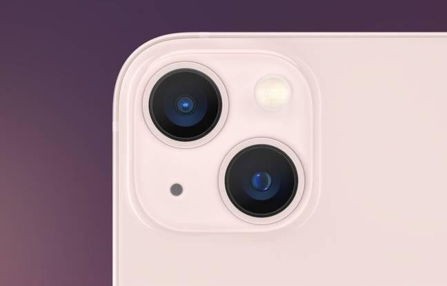 Le double module photo de l'iPhone 13 mini et de l'iPhone 13.