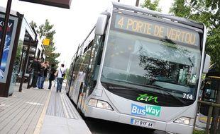 La ligne 4 de busway à Nantes