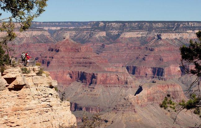 Le Grand canyon, aux Etats-Unis.