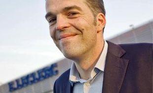 Thomas Pocher a repris le flambeau de son père comme adhérent au groupe Leclerc et mise tout sur le marketing vert et la consommation durable.