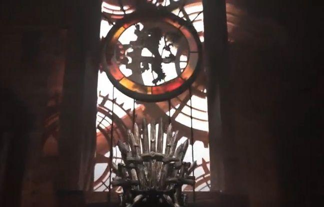 Capture écran du générique de la série «Game of thrones» HBO