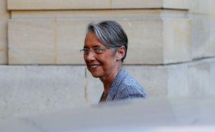 La ministre des Transports Elisabeth Borne le 7 mai 2018 à Matignon.