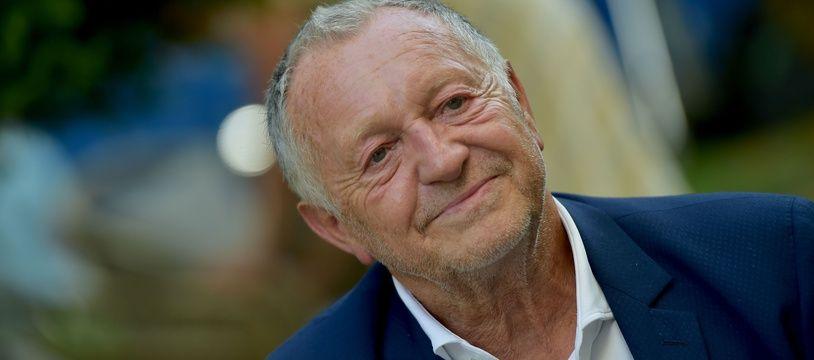 Jean-Michel Aulas lors du festival du film d'Angoulème, le 1er septembre 2020.