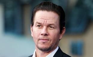 Le comédien Mark Wahlberg lors de la première du dernier Transformers à Londres