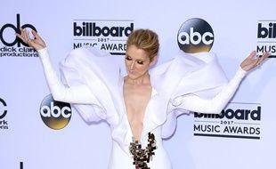 La chanteuse Céline Dion à Las Vegas.