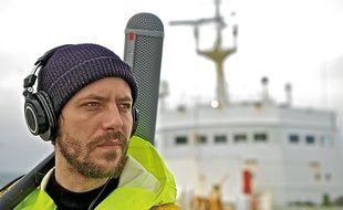Artiste électro, Romain a passé cinq semaines à bord d'un navire malouin.