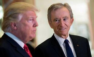 Le Français Bernard Arnault a rencontré le future président américain Donald Trump