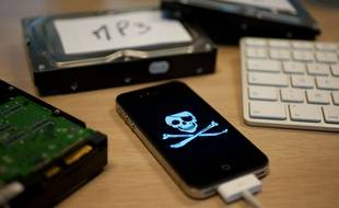 Illustration d'un piratage informatique.