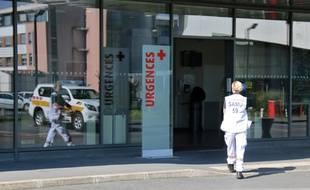 Les urgences de l'hôpital de Valenciennes.
