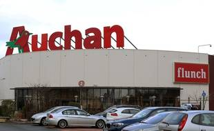 Un magasin Auchan au Mans (image d'illustration).