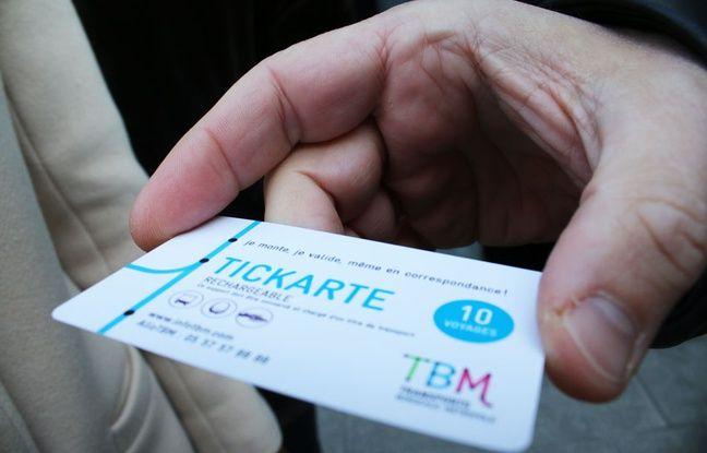Carte Tbm Bordeaux.Bordeaux La Billettique Fait Sa Revolution Sur Le Reseau Tbm