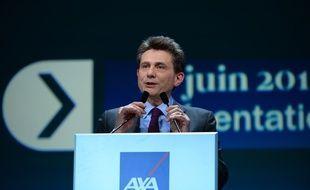 L'ancien PDG du groupe d'assurance Axa, Henri de Castries