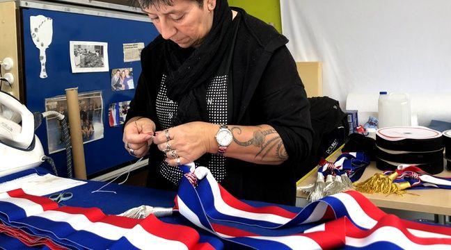 Les écharpes tricolores des maires sont fabriquées dans le Nord