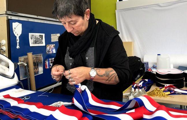 Municipales 2020: Prix, taille, style... Les écharpes tricolores des maires sont fabriquées dans le Nord
