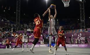 La basket 3x3 a trouvé un public lors des JO de Tokyo 2021.